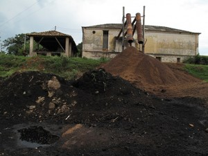 Onsite biochar production