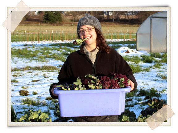 Jessica Babcock, Farm Manager at Greenbank Farm